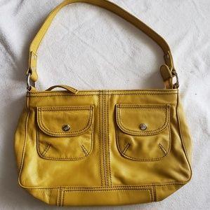 Mango Yellow Leather 2001 Purse